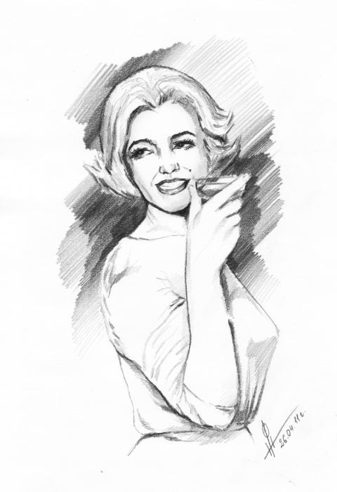Marilyn Monroe by Dory21